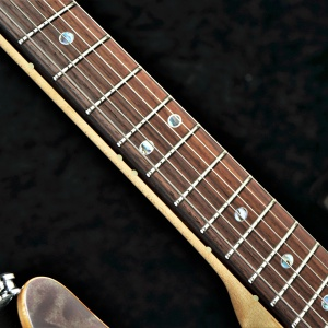 Standard Style - Rosewood Fretboard - Position Mark : Oval (Abalone with border) & Luminlay 3mm - Green